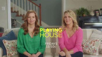 XFINITY X1 TV Spot, 'USA Network: Playing House' - Thumbnail 9