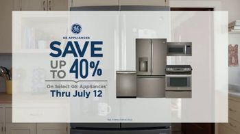GE Appliances TV Spot, 'Fish Funeral: Save Up to 40%' - Thumbnail 7
