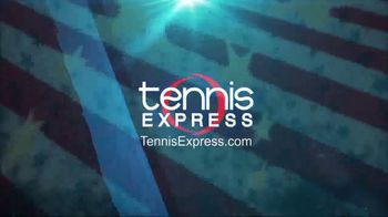Tennis Express 4th of July Sales Event TV Spot, 'Shoes, Apparel & Racquets' - Thumbnail 1