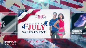 Tennis Express 4th of July Sales Event TV Spot, 'Shoes, Apparel & Racquets' - Thumbnail 2