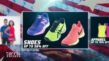 Tennis Express 4th of July Sales Event TV Spot, 'Shoes, Apparel & Racquets' - Thumbnail 3