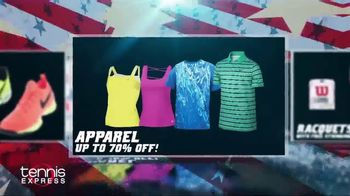 Tennis Express 4th of July Sales Event TV Spot, 'Shoes, Apparel & Racquets' - Thumbnail 4