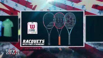 Tennis Express 4th of July Sales Event TV Spot, 'Shoes, Apparel & Racquets' - Thumbnail 5