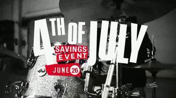 Guitar Center 4th of July Savings Event TV Spot, 'Markdowns: Coupon' - Thumbnail 3