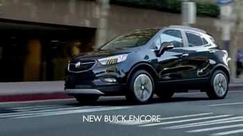 2017 Buick Encore Preferred TV Spot, 'Talking About It' Song by Matt and Kim [T1] - 2338 commercial airings