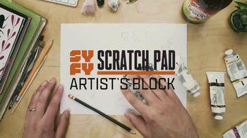 Snapple Mango Tea TV Spot, 'Syfy: Scratch Pad' - Thumbnail 1