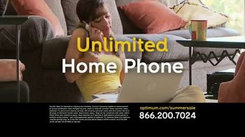Optimum Summer Sale TV Spot, 'Triple Play' - Thumbnail 3