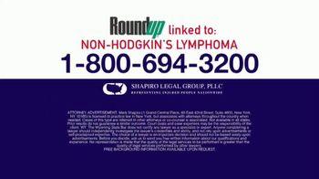 Shapiro Legal Group TV Spot, 'Non-Hodgkin's Lymphoma' - Thumbnail 5