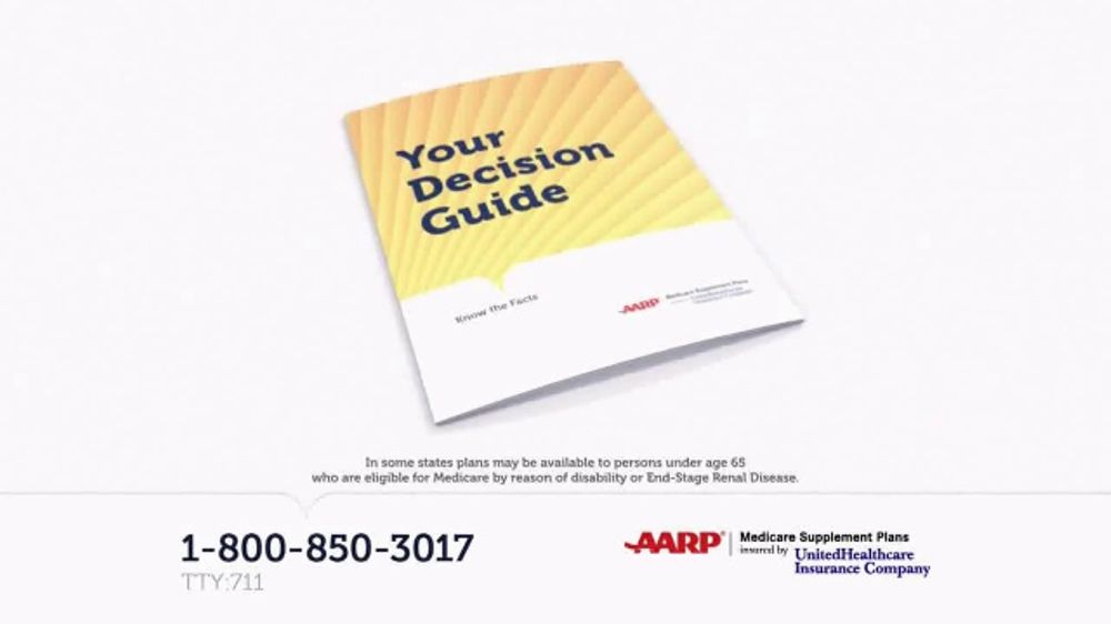 United Healthcare Medicare Supplement >> UnitedHealthcare AARP Medicare Supplement Plans TV Commercial, 'Decision Guide' - iSpot.tv