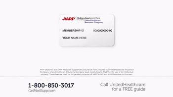 UnitedHealthcare AARP Medicare Supplement Plans TV Spot, 'Decision Guide' - Thumbnail 7