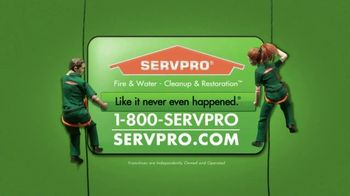 SERVPRO TV Spot, 'Water' - Thumbnail 10