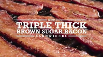 Arby's Triple Thick Brown Sugar Bacon Sandwiches TV Spot, 'The Feeling' - Thumbnail 8