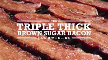 Arby's Triple Thick Brown Sugar Bacon Sandwiches TV Spot, 'The Feeling' - Thumbnail 9