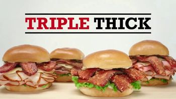 Arby's Triple Thick Brown Sugar Bacon Sandwiches TV Spot, 'Sprinkle Remix' - Thumbnail 5