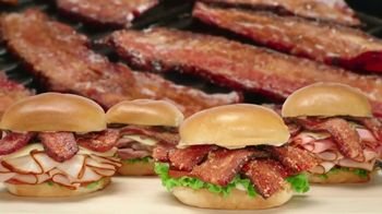 Arby's Triple Thick Brown Sugar Bacon Sandwiches TV Spot, 'Sprinkle Remix' - Thumbnail 6