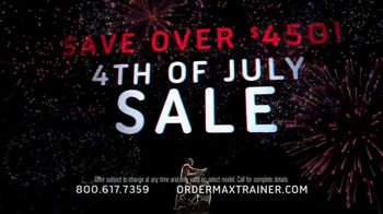 Bowflex Max Trainer 4th of July Sale TV Spot, 'More Calories in Less Time' - Thumbnail 4