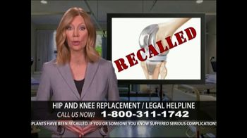 Levy Konigsberg LLP TV Spot, 'Hip and Knee Replacement'