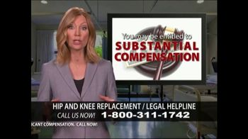 Levy Konigsberg LLP TV Spot, 'Hip and Knee Replacement' - Thumbnail 8