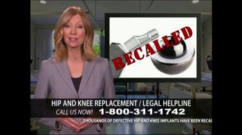 Levy Konigsberg LLP TV Spot, 'Hip and Knee Replacement' - Thumbnail 2