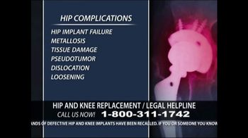 Levy Konigsberg LLP TV Spot, 'Hip and Knee Replacement' - Thumbnail 3