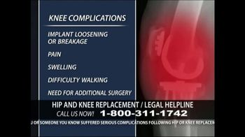 Levy Konigsberg LLP TV Spot, 'Hip and Knee Replacement' - Thumbnail 5
