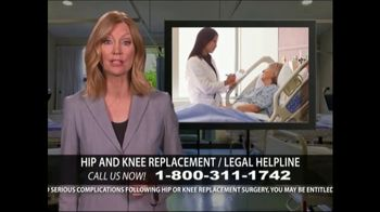 Levy Konigsberg LLP TV Spot, 'Hip and Knee Replacement' - Thumbnail 6