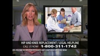 Levy Konigsberg LLP TV Spot, 'Hip and Knee Replacement' - Thumbnail 7