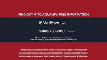 Medicare.com Help Line TV Spot, 'See If You Qualify' - Thumbnail 6