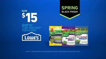 Lowe's Spring Black Friday TV Spot, 'The Moment: More Lawn Care' - Thumbnail 10