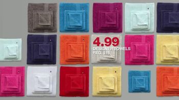 Macy's Lowest Prices of the Season TV Spot, 'Designer Towels' - Thumbnail 6