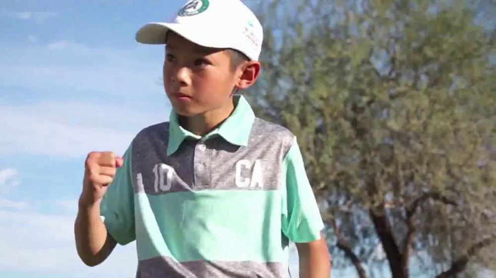 PGA Junior League Golf TV Commercial, 'First Swing'