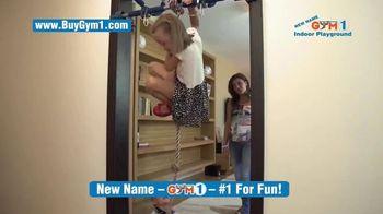 Gorilla Gym 1 Indoor Playground TV Spot, 'Making Kids Happy'