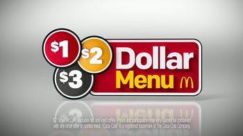 McDonald's $1 $2 $3 Dollar Menu TV Spot, 'Bacon McDouble' - Thumbnail 8