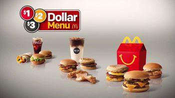McDonald's $1 $2 $3 Dollar Menu TV Spot, 'Bacon McDouble' - Thumbnail 3