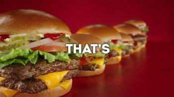Wendy's Dave's Single TV Spot, 'Hamburgerology: NCAA' - Thumbnail 5