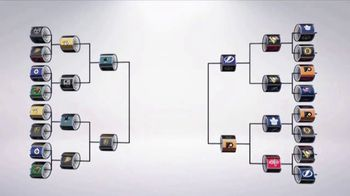 NHL TV Spot, '2018 Stanley Cup Playoffs Bracket Challenge' - Thumbnail 1