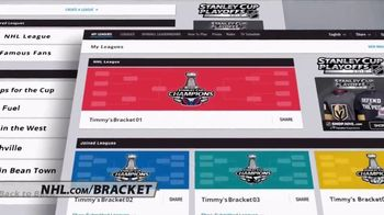 NHL TV Spot, '2018 Stanley Cup Playoffs Bracket Challenge' - Thumbnail 6