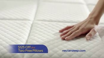 NECTAR Mattress TV Spot, 'Sweet Dreams Delivered' - Thumbnail 4