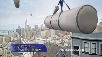NECTAR Mattress TV Spot, 'Sweet Dreams Delivered' - Thumbnail 8