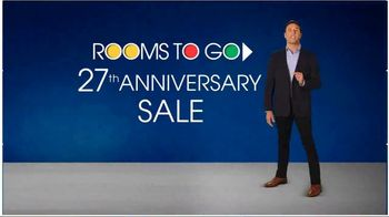 Rooms to Go 27th Anniversary Sale TV Spot, 'Not Much Time Left'