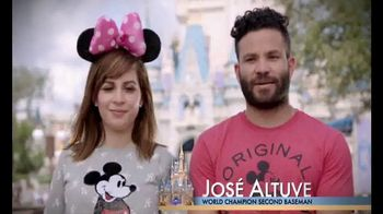 Walt Disney World TV Spot, 'Toy Story Mania' Featuring José Altuve - Thumbnail 2