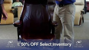 Relax the Back Clearance Sale TV Spot, 'Zero Gravity Recliners' - Thumbnail 8