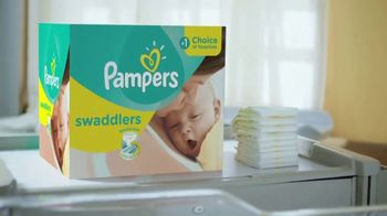 Pampers Swaddlers TV Spot, 'Love at First Touch' - Thumbnail 5