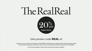 The RealReal TV Spot, 'Shop Luxury Consignment by Gucci, Chanel, Hermes' - Thumbnail 9