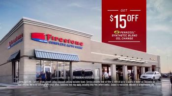 Firestone Complete Auto Care TV Spot, 'Like New: Oil Change'