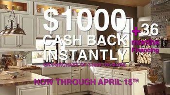 Cabinets To Go TV Spot, 'April Cash Back' - Thumbnail 4