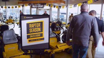 Hustler Turf Raptor Season Sales Event TV Spot, 'Time to Mow' - Thumbnail 2
