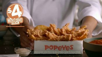 Popeyes $4 Wicked Good Deal TV Spot, 'Perfecto con una salsita' [Spanish] - Thumbnail 6