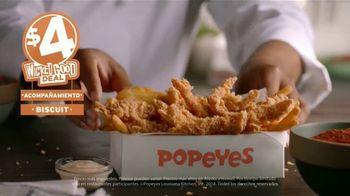 Popeyes $4 Wicked Good Deal TV Spot, 'Perfecto con una salsita' [Spanish] - Thumbnail 7
