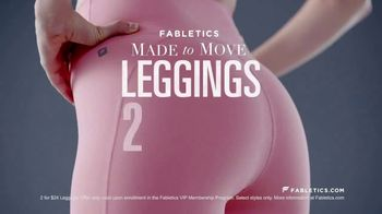 Fabletics.com Leggings TV Spot, 'Super Sculpting Fabric' - Thumbnail 2
